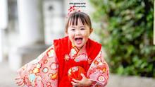 検見川神社で七五三の出張撮影(3歳)