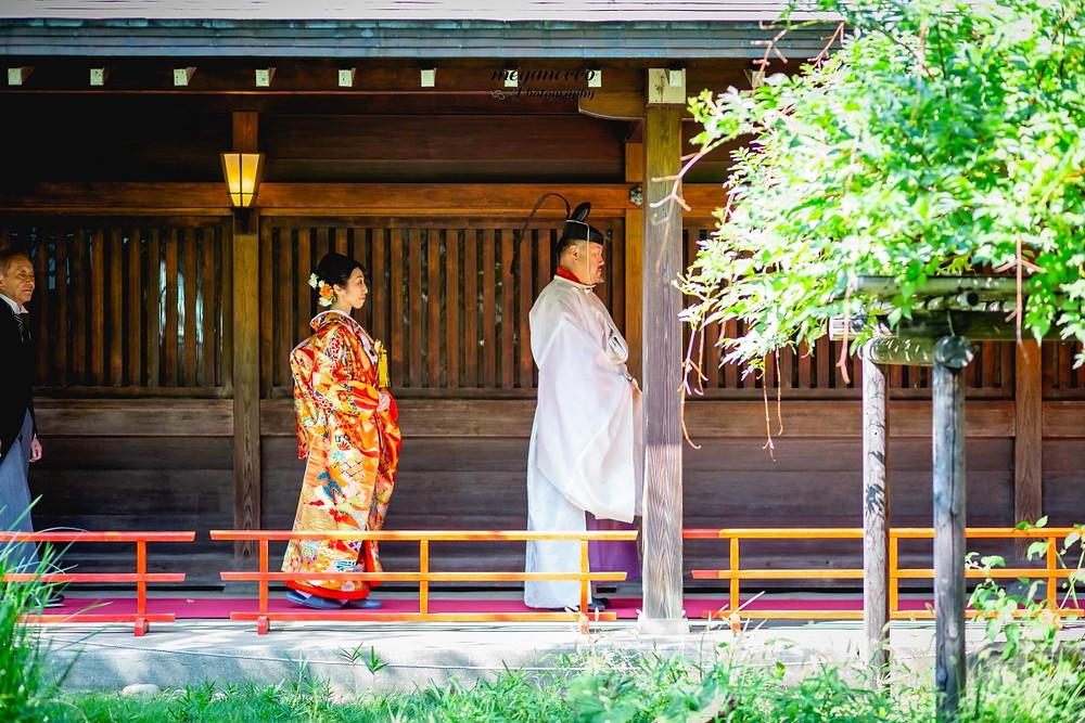 代々木八幡宮 結婚式 持ち込みカメラマン