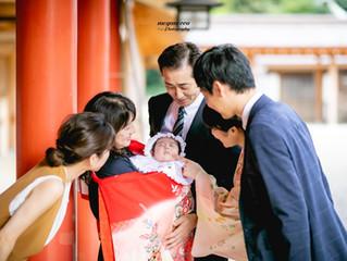 武蔵一宮氷川神社でお宮参りの出張撮影
