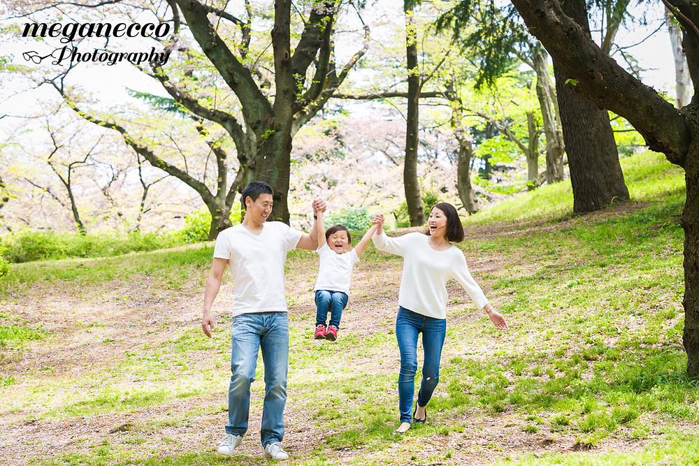 出張撮影 入学 入園 家族写真