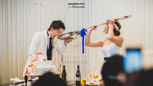 ザ コルトーナシーサイド台場で結婚式の写真撮影(持ち込みカメラマン)
