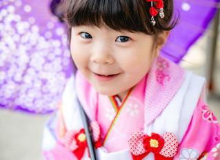 稲毛浅間神社で七五三(3歳)のロケーション撮影