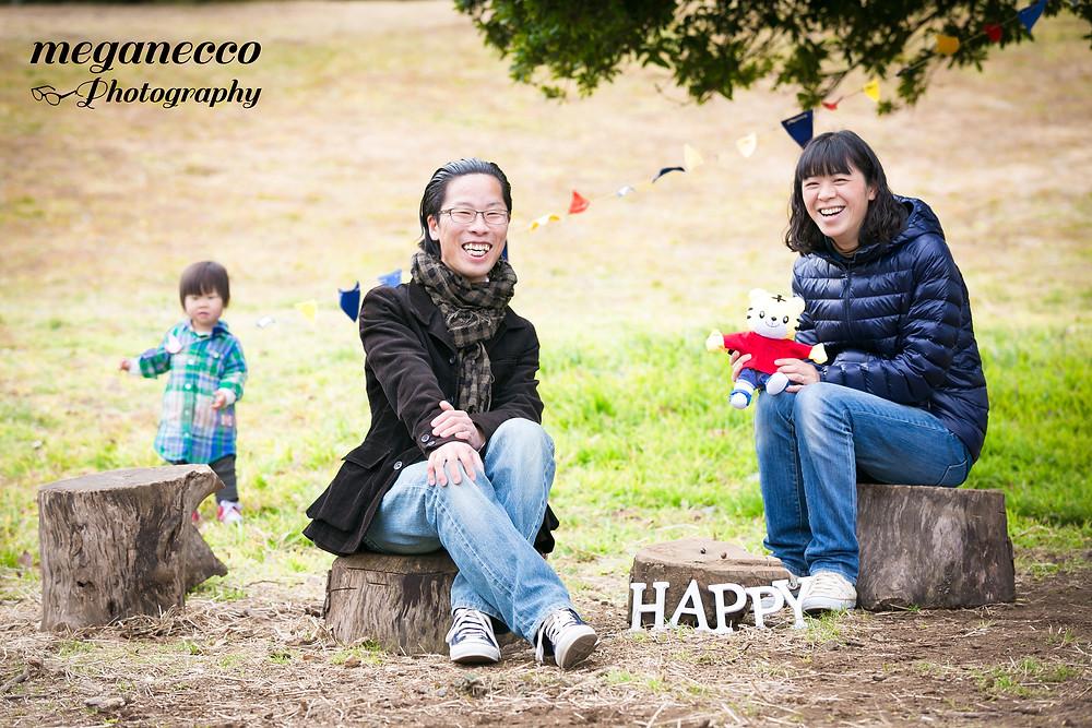 出張撮影 バースデーフォト  家族写真