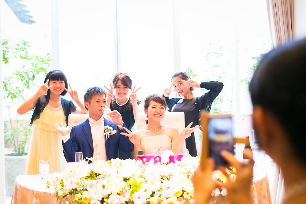 結婚式 外注カメラマン チェルシーコート
