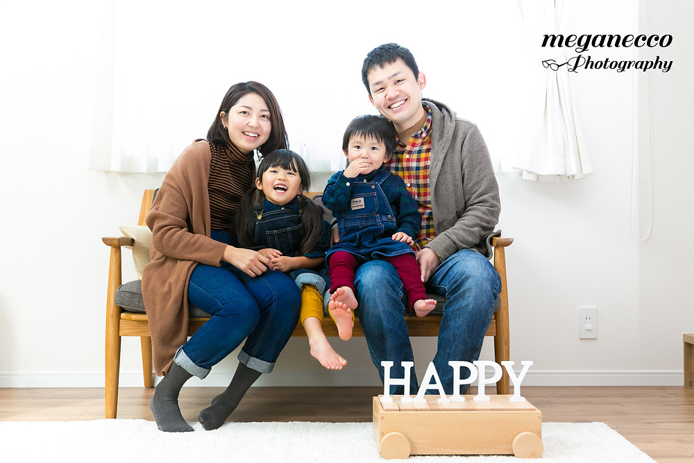 出張撮影 マイホーム  家族写真