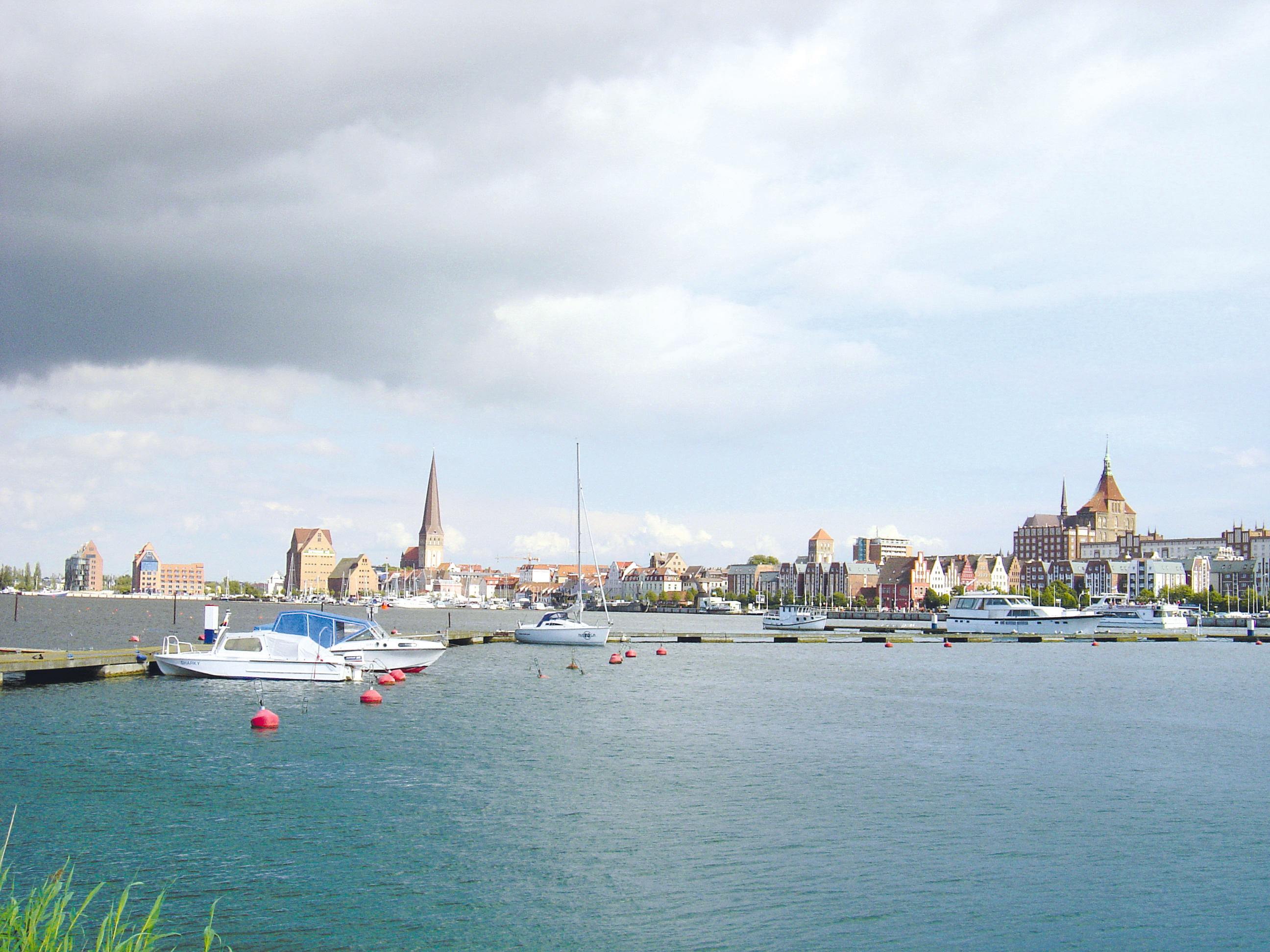 Rostock Skyline Stadthafen