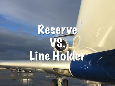 Reserve VS. Line Holder