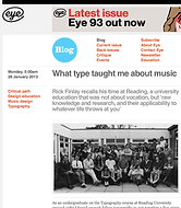 What type taught me about music