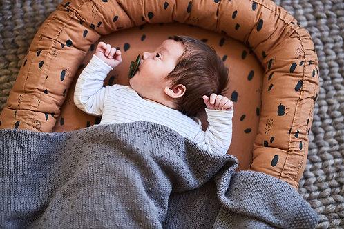 Babynestje Spot 90x52cm - Caramel