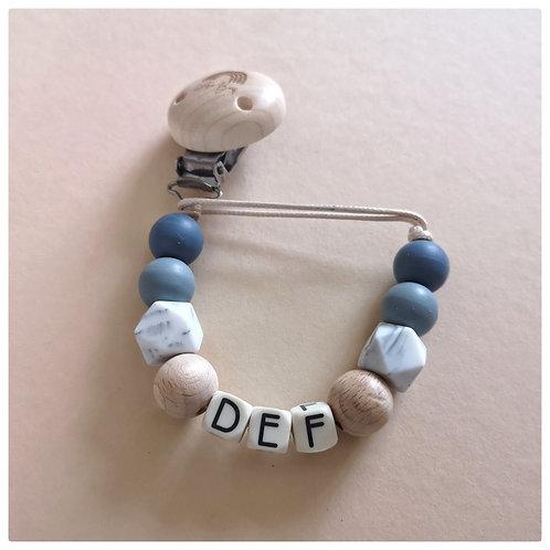 Speenkoord met naam - Def