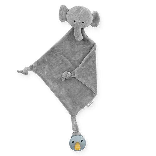 Knuffeldoekje Olifant Grijs - Jollein