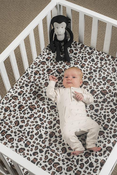 Boxkleed leopard 75x95cm - Jollein