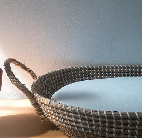 PRE-ORDER: Waterafstotend matrasje (3cm) voor verschoningsmand