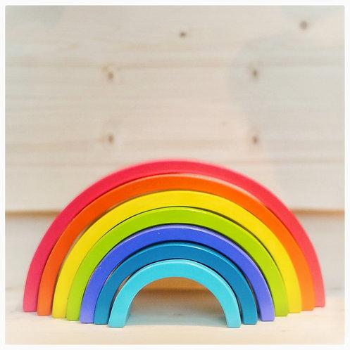 Regenboog stapelblokken