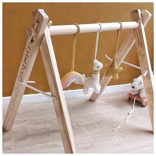 Babygym+hangers - Geel