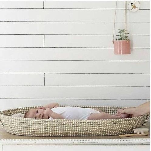 PRE-ORDER: Zeegras verschoningsmand +waterafstotend matras 3cm