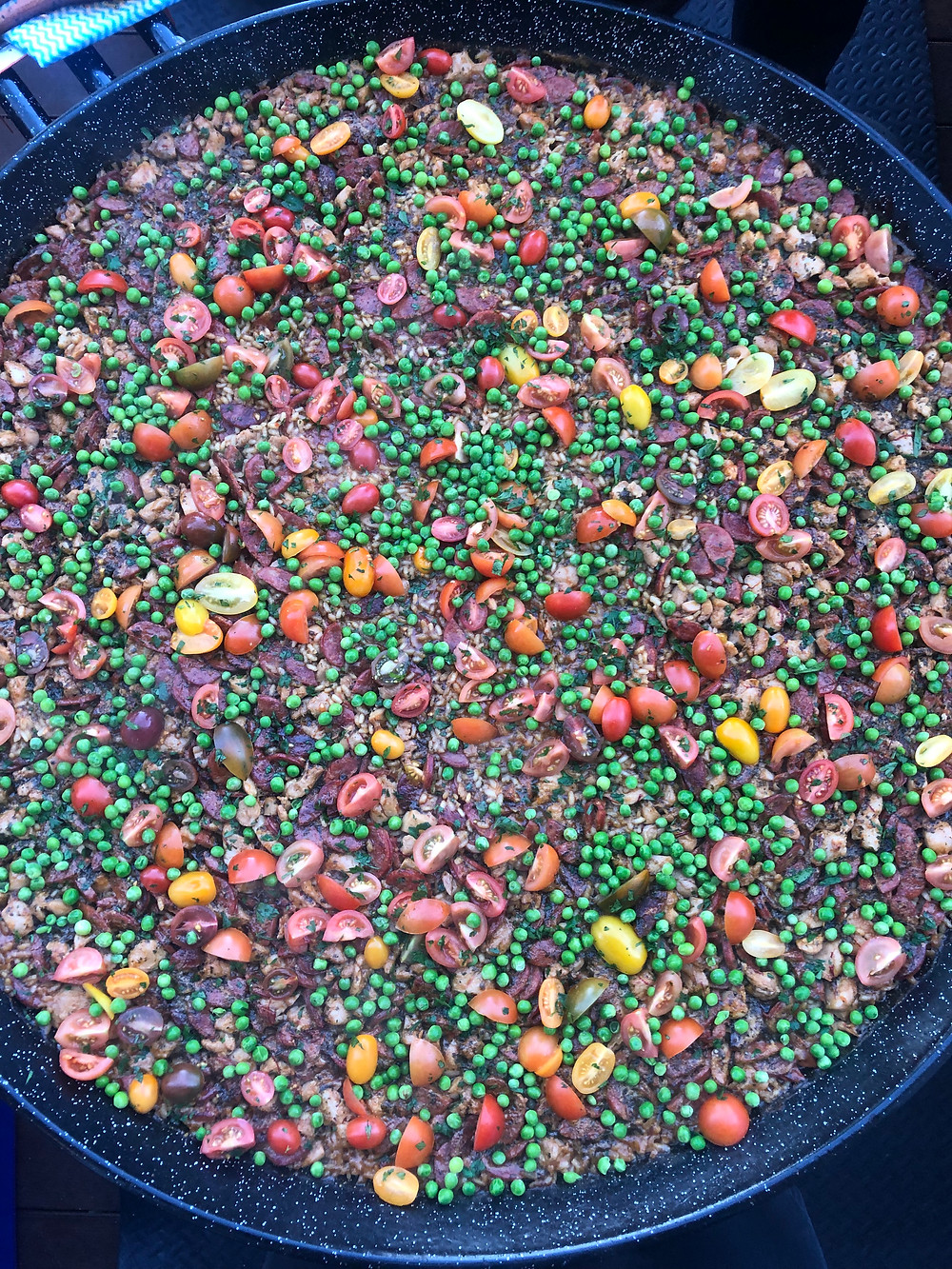 vegetarian paella for any dietary requirements