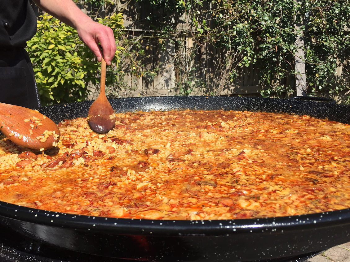 Our Paella catering Story