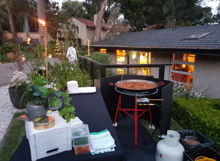 Paella catering in Castle Cove