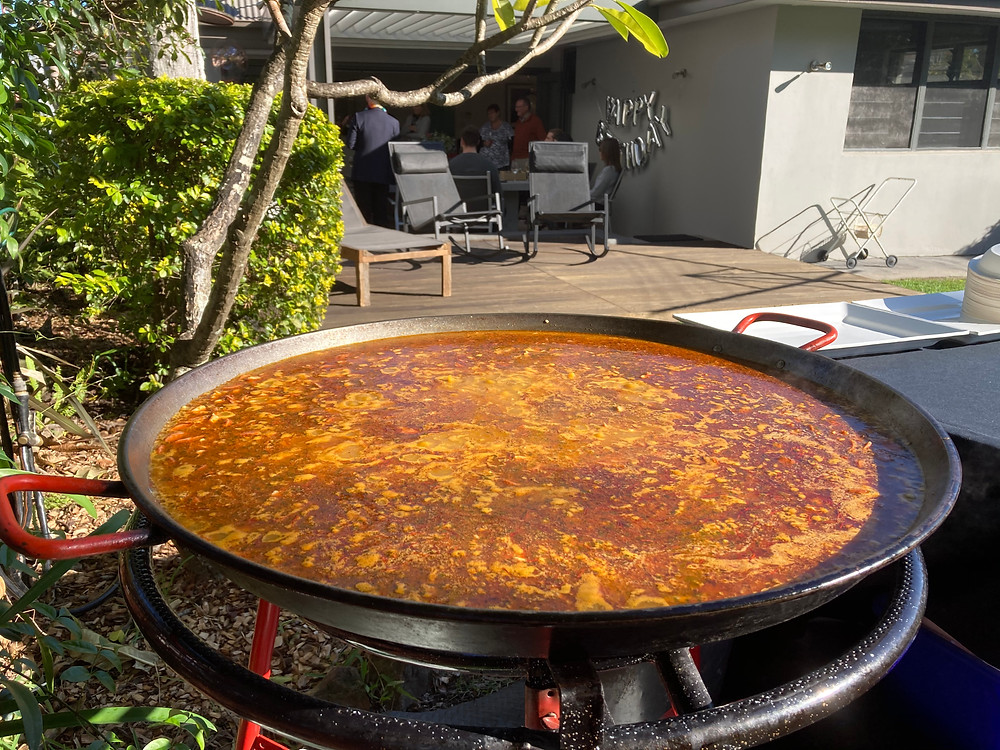Paella catering in Chatswood in Sydney