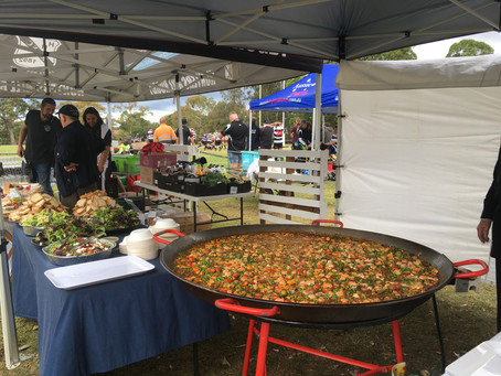 Paella catering in Hunters Hill Sydney