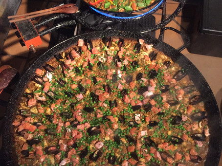 Sydney mobile paella catering