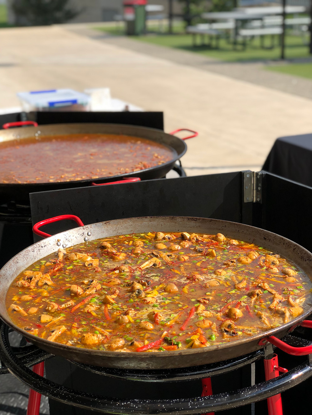 Everybody loved the Paella