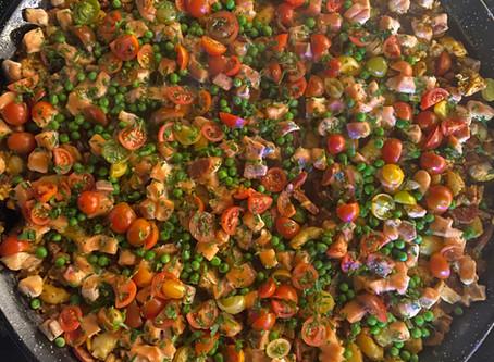 Paella catering, Balmoral.