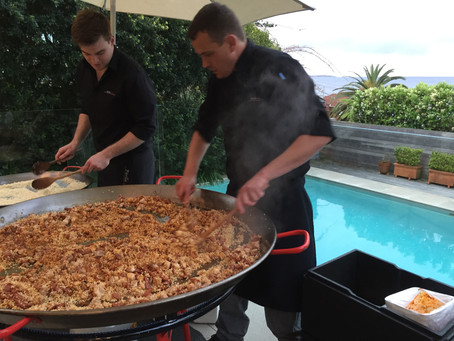 Paella parties in Rozelle