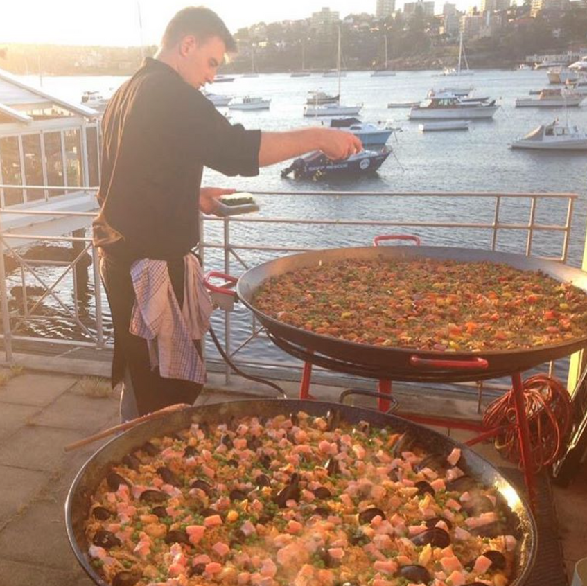 Sydney paella catering with attention to detail, quality ingredients and generous portions.
