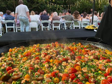 Paella catering in Riverview on Sydney's North Shore – Mia's 21st