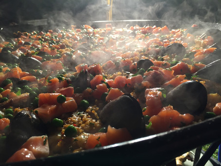 How we cater for and accomodate dietary requirements with paella