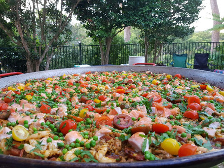 Paella catering in St Ives
