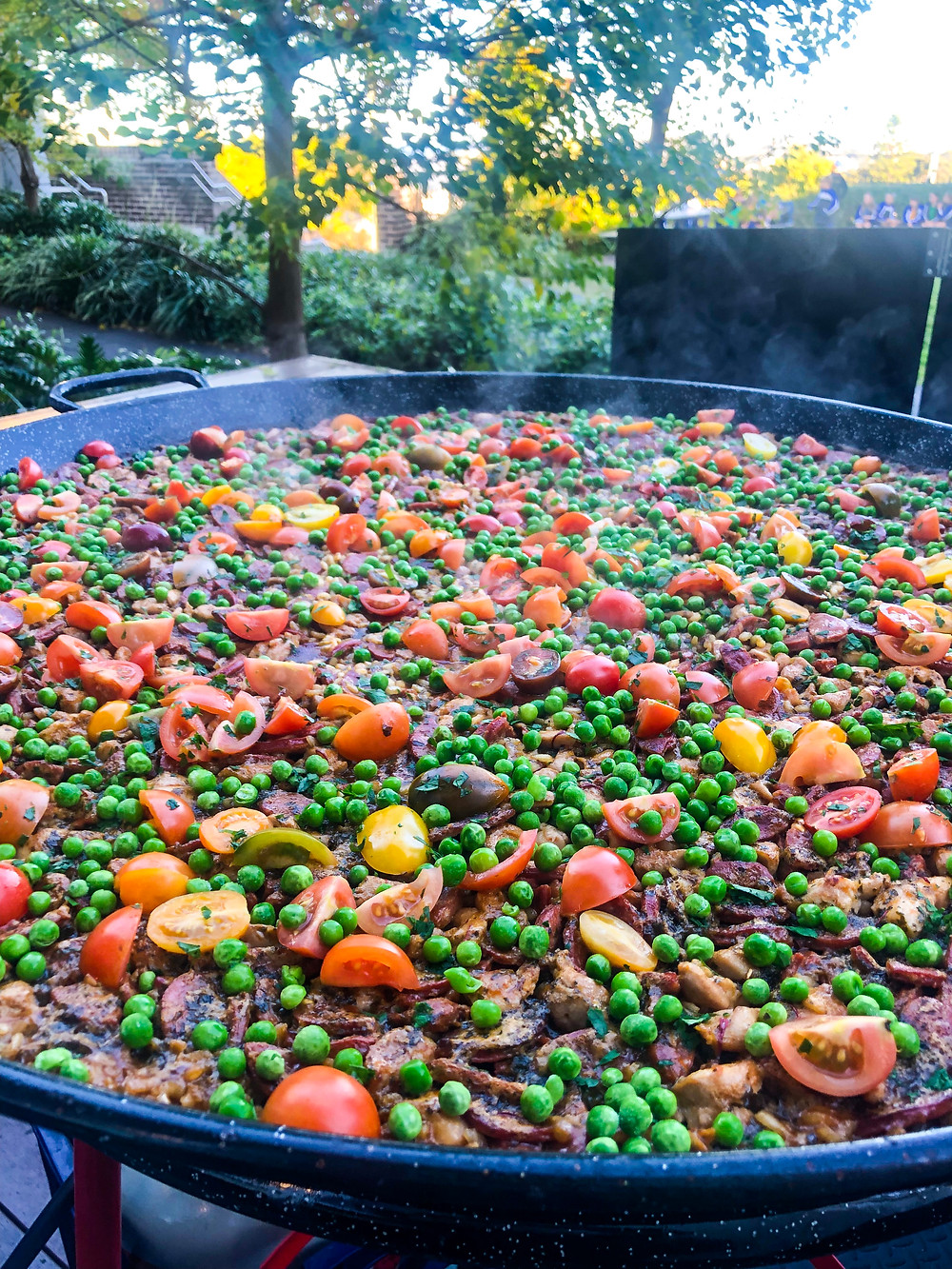 Paella Catering for a school function