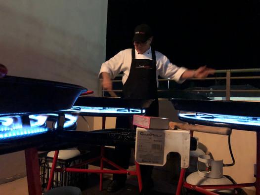 Paella catering at Bondi Pavilion