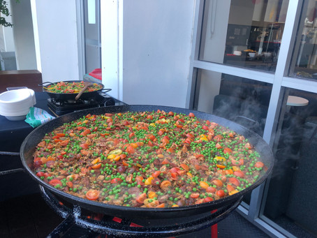 Paella Catering at Dee Why on Sydney's Northern Beaches