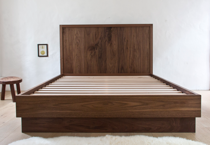 Fluted Bed