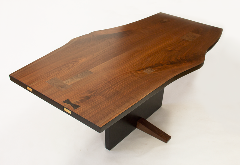 Finn Table - Slab Pedestal Dining Table
