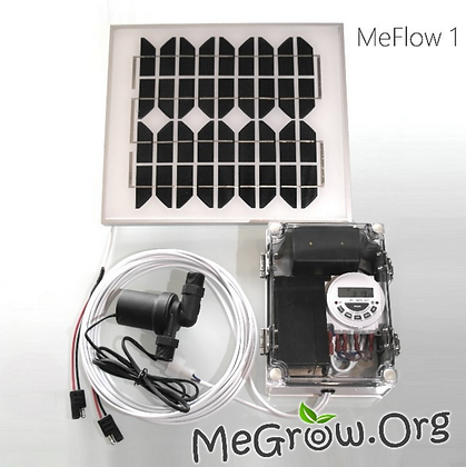 Heavy Duty Solar Pump with timer + Battery backup