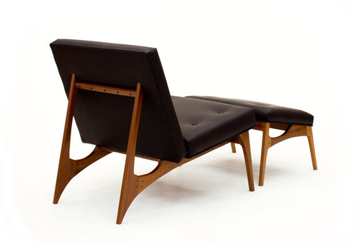 center city lounge chair ottoman