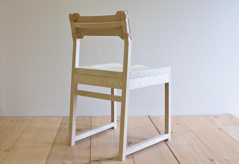 Tab Dining Chair - Bleached Oak