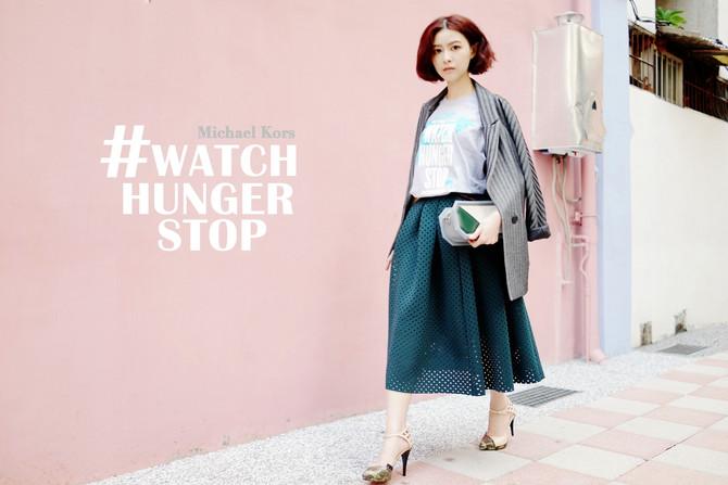 Michael Kors #WatchHungerStop 戰勝饑餓活動