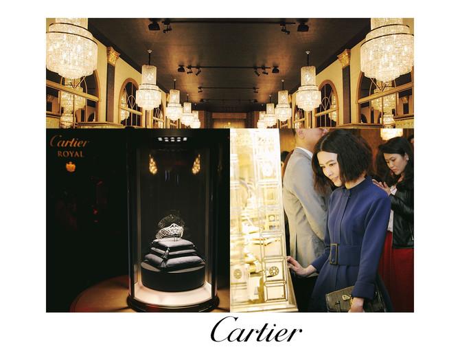 Cartier Royal 皇家之耀頂級珠寶展