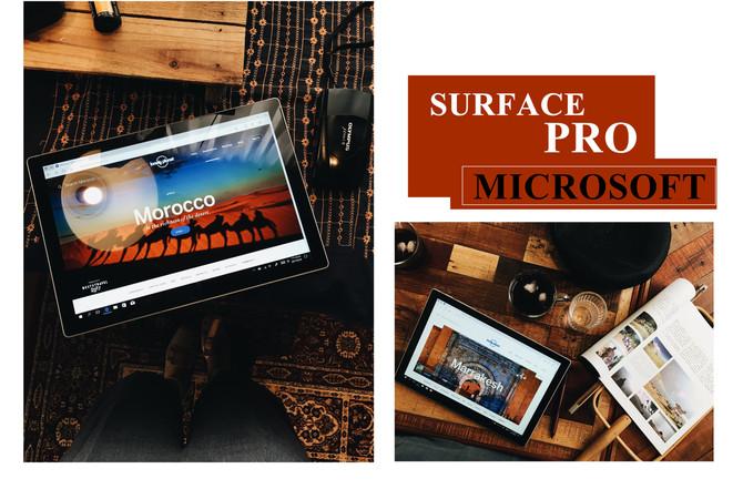 微軟Microsoft Surface Pro-質感與時尚兼具的生活夥伴