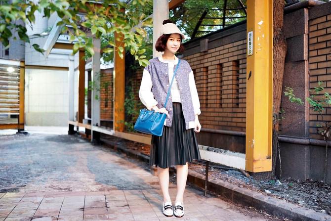 Individuality 屬於針織與皮革的微涼秋季