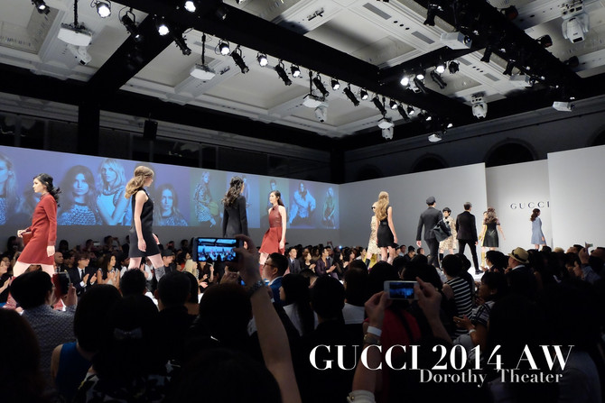 [ Event ] GUCCI 2014 秋冬大秀