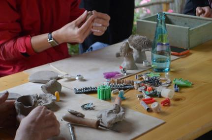Keramikworkshop in der Bunten Erde