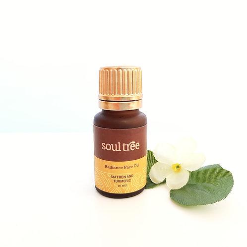 Bio rozjasňující pleťový olej s šafránem a kurkumou - Ind