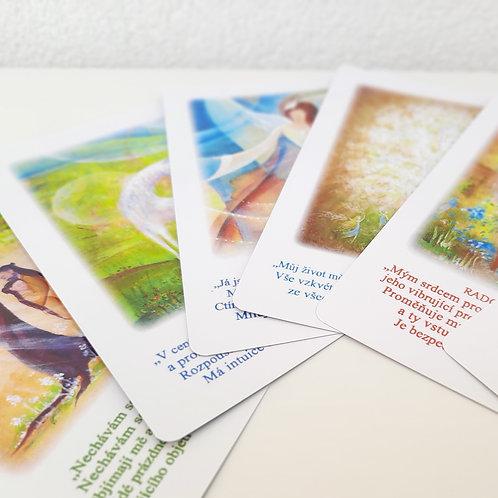 Vykládací karty emočního uzdravení - KRABIČKA
