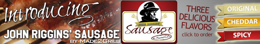John Riggins' Sausage by Made2Grill